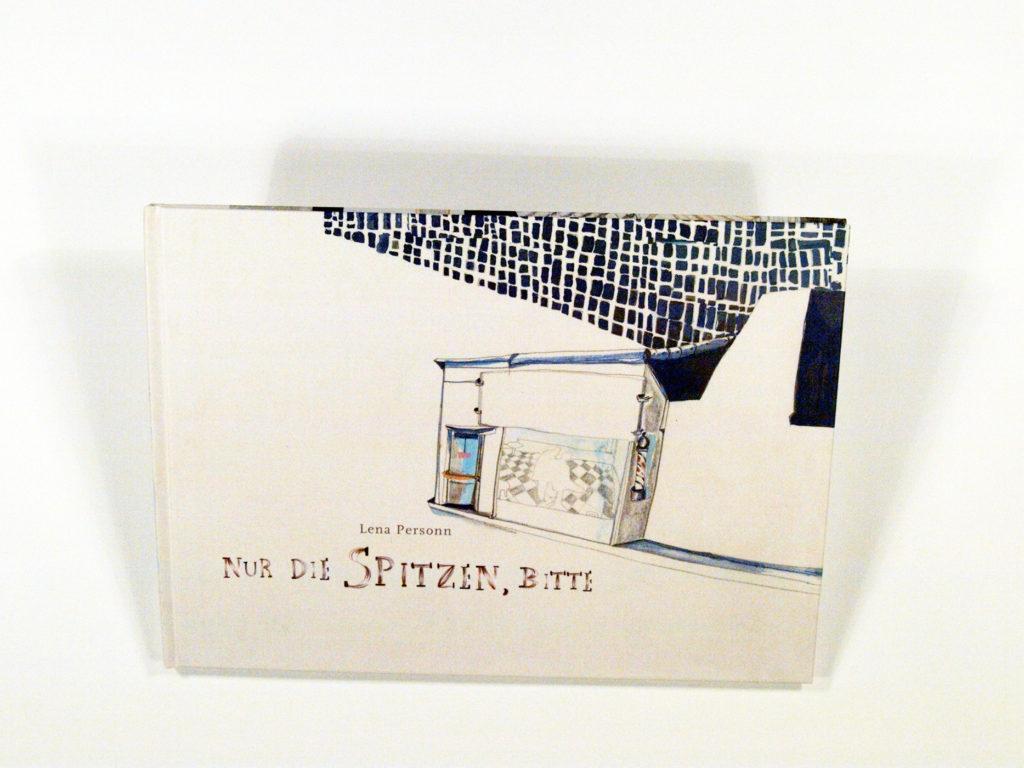 """Bookcover """" Nur die Spitzen, bitte"""" Lena Personn Illustration"""