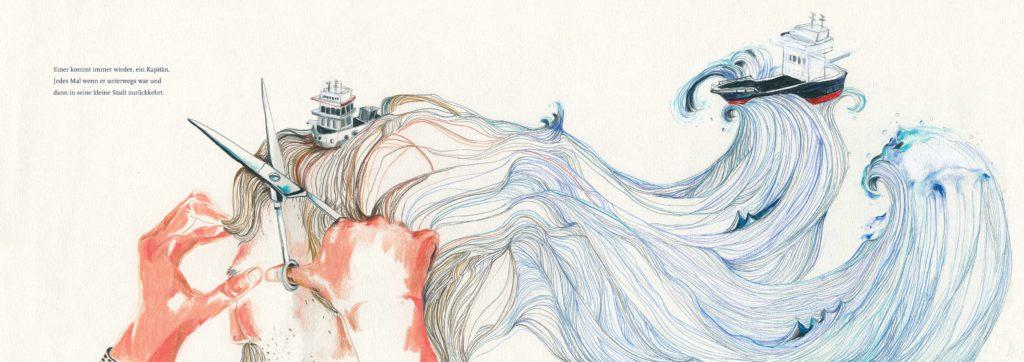 Hairwaves Lena Personn Illustration